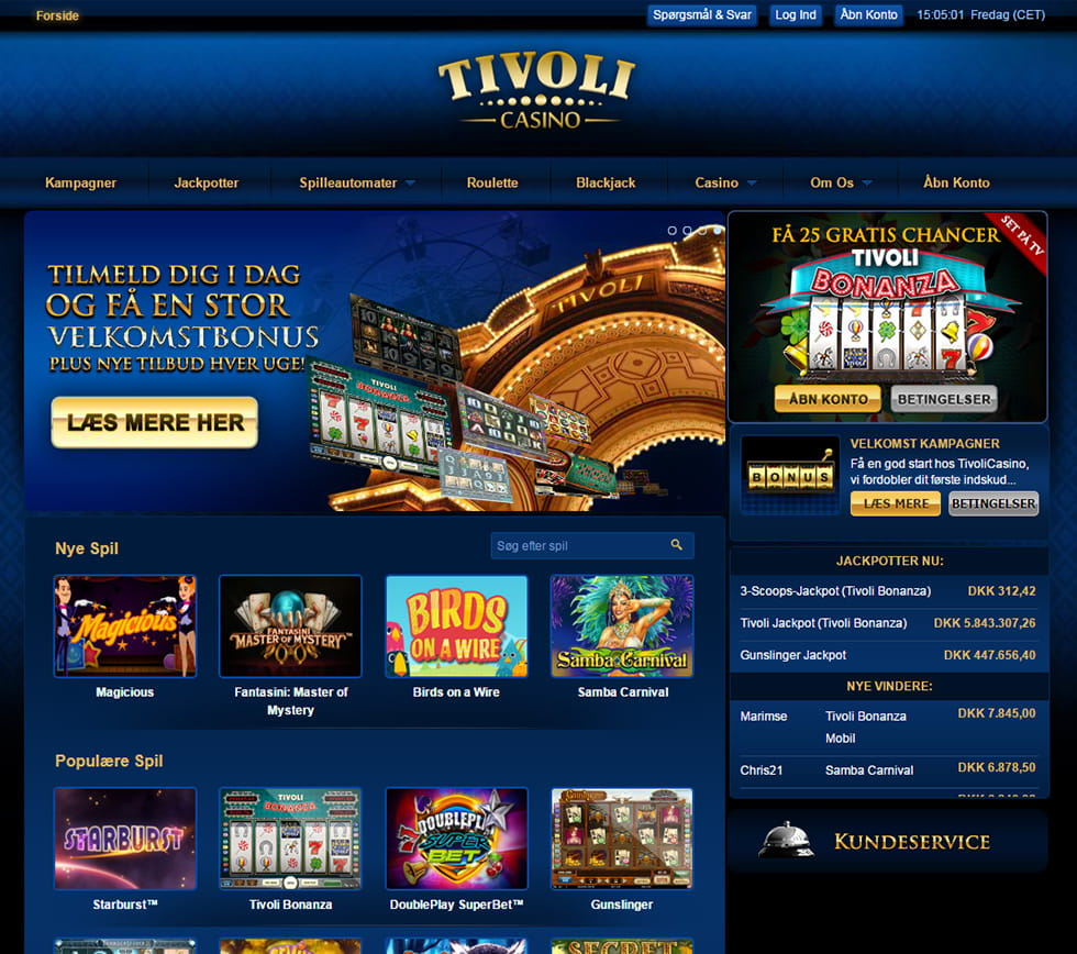 Tivoli Casino Anmeldelse